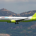 JinAir B737-800 at HKG