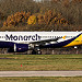 G-ZBAT Monarch Airlines Airbus A320-214 @ Man