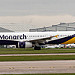 G-OZBO Monarch Airlines Airbus A321-231 @ Man