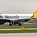 G-ZBAH Monarch Airlines Airbus A320-214 @ Man