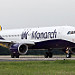 G-ZBAH Monarch Airlines Airbus A320-200 Leeds Bradford Airport