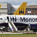 Monarch Airbuses at LTN