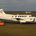 LY-LTE Danish Air Transport Beech 200 King Air EGNS 4/4/13
