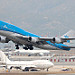 KLM B747-400M PH-BFT departing HKG/VHHH