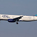"""N623JB   Airbus A320-232   jetBlue Airways """"Playa-way With Me"""" (special """"jetblue vacations"""" colours)"""